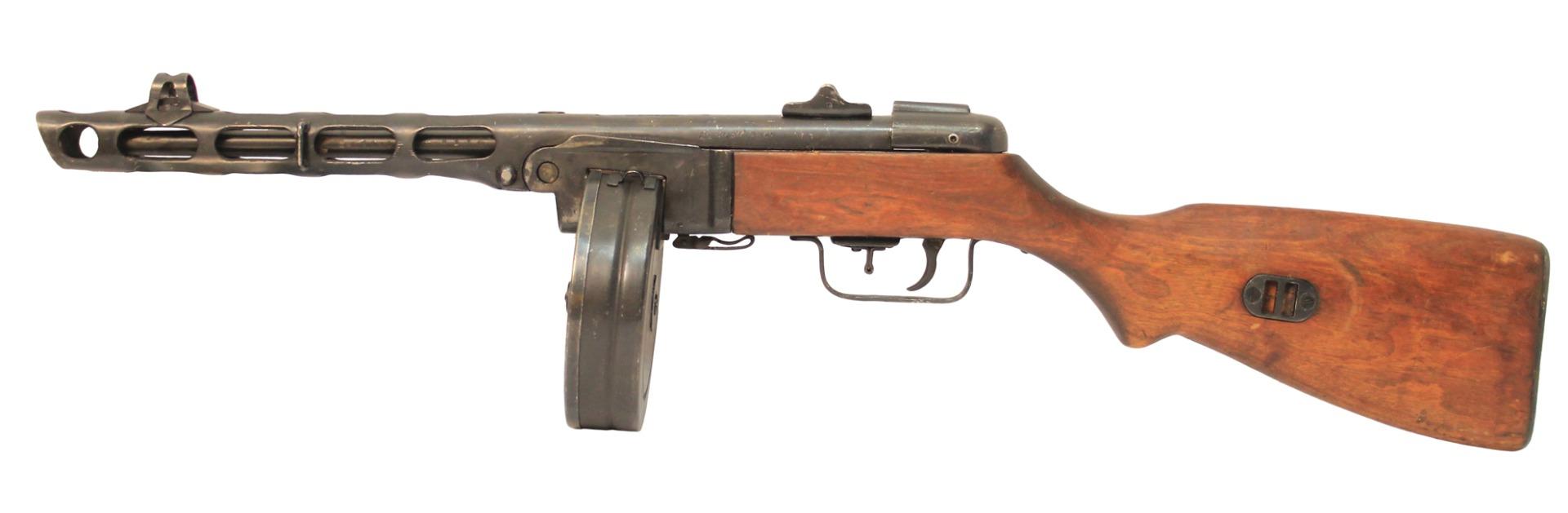 Пулемет Шпагина ППШ-СХ